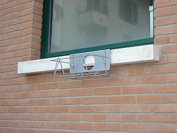 portavasi per davanzale silvano 40 alto nero: amazon.it: casa e cucina - Il Portavasi Silvano