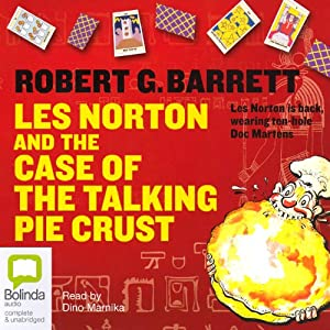 Les Norton and the Case of the Talking Pie Crust Audiobook