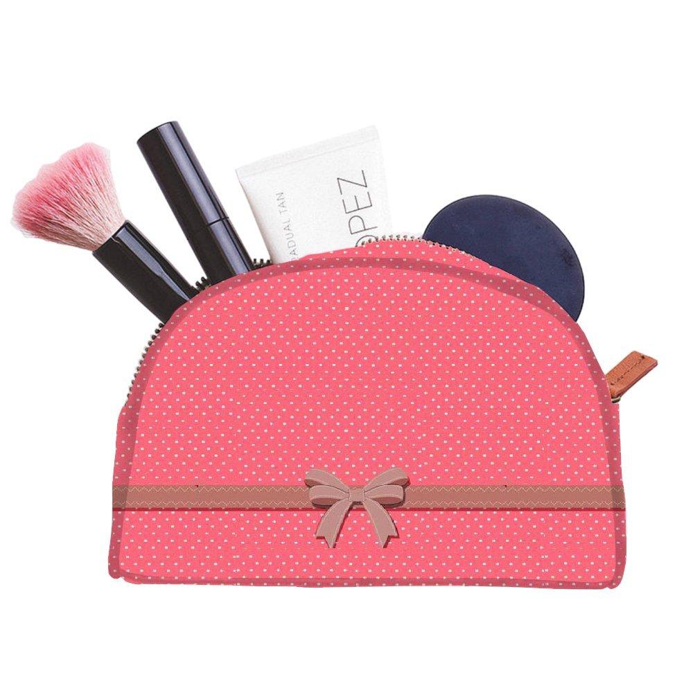 Snoogg Cadeau Polka multifonctionnel Toile Pen Sac trousse maquillage Outil Sac pochette de rangement Sac à main