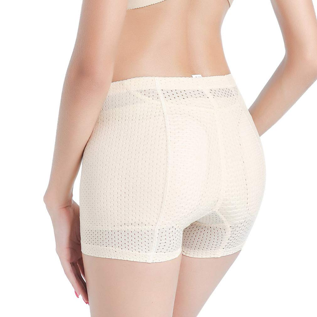 RON BILLY Women Butt Lifter High Waist Body Shaper Briefs Padded Seamless Underwear Panties