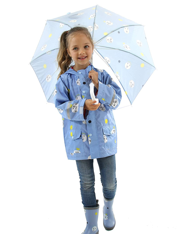 Amazon.com: Chubasquero impermeable con capucha para niños y ...