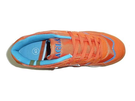 Showlovein - Zapatillas de pesca de Material Sintético para hombre, color naranja, talla 39 EU