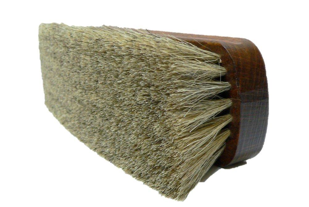 Shoe Polishing Brush | Luxury Shining Brush | Genuine HorseHair | Made in Germany | White Hair by Valentino Garemi (Image #3)