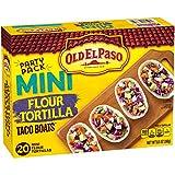 hard taco shells - Old El Paso Taco Boats Mini Flour Tortillas 20 ct Pack