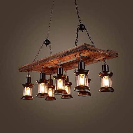 Amazon.com: XQY Living Room Ceiling Lamp,Vintage Pendant ...