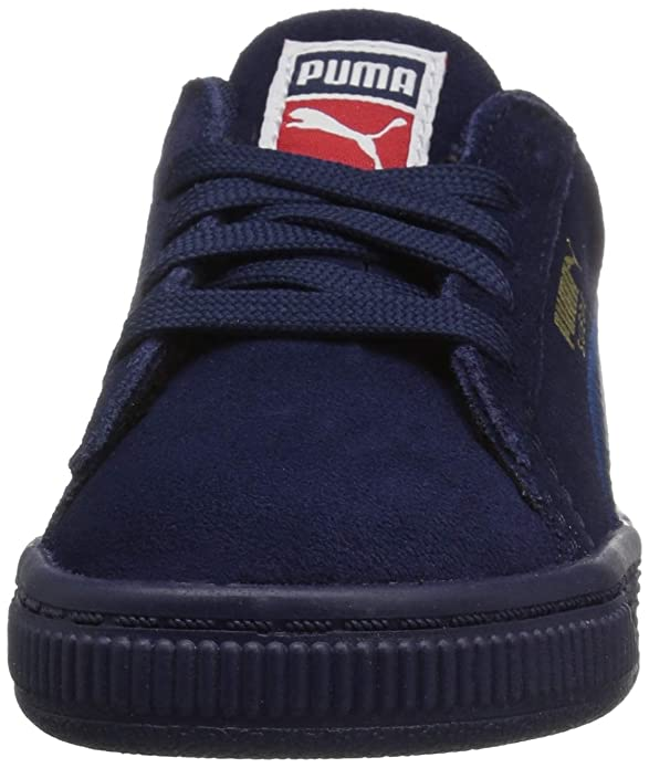 Puma Girls   Suede Classic Embroidery Sneaker  Amazon.co.uk  Shoes   Bags 22b388c41