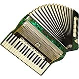 Weltmeister Accordion, 96 Bass, 14 Register, Fine German Keyboard Accordian, 736, Very Beautiful Sound!