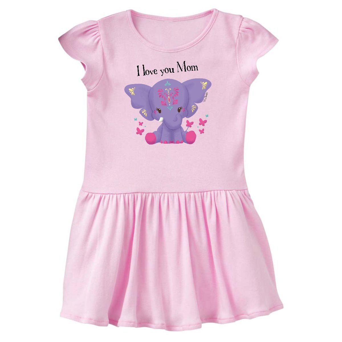 inktastic My Mother Loves Me Bear and Hearts Baby T-Shirt