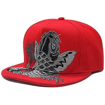NKSS Gorras de béisbol Hip-Hop Chinas Hombres y Mujeres Gorras de ...