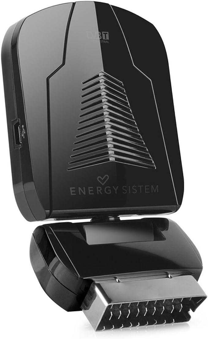 Energy Sistem SD3 - Sintonizador TDT (cabezal pivotante 360º, grabador, EPG, USB): Amazon.es: Electrónica