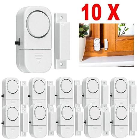 Lote de 10 sistemas de alarma de seguridad para el hogar inalámbrico para montar tú mismo