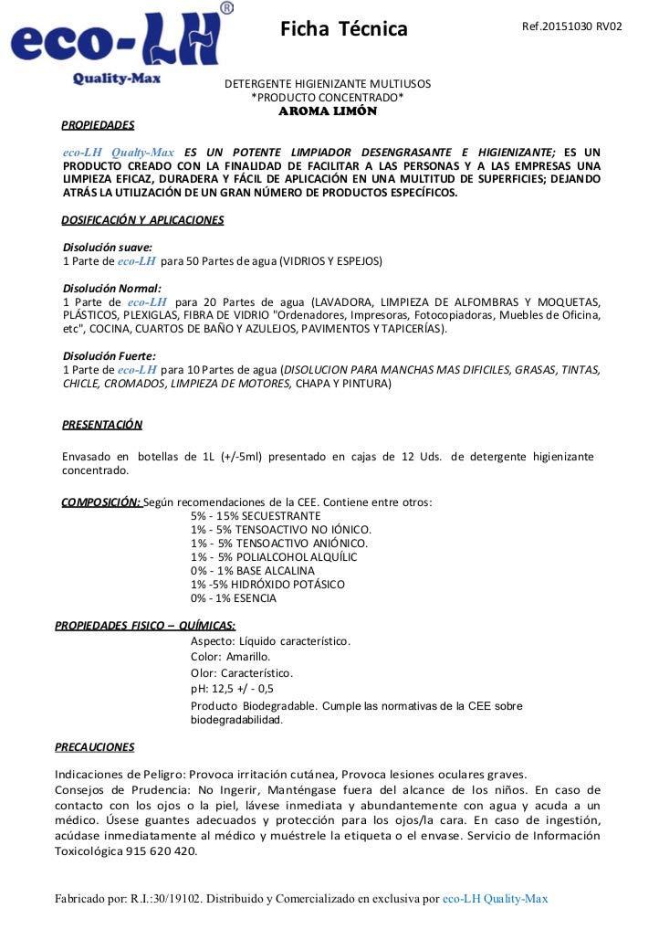 eco-LH5 Super limpiador DESENGRASANTE MUY PERFUMADO Limón (5Litros): Amazon.es: Hogar