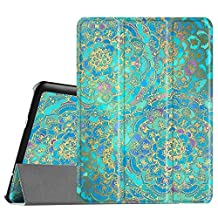 Fintie Samsung Galaxy Tab S2 9.7 Smart Shell Case - Ultra Slim Lightweight Stand Cover with Auto Sleep/Wake Feature for Samsung Galaxy Tab S2 Tablet, Shades of Blue