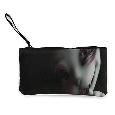 Amazon.com: Monedero Creepy de cara completa para niñas y ...