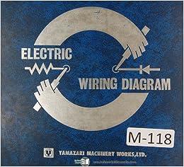 mazak yamazaki mazatrol electrical wiring diagrams quick slant 20 4 axis  manual: mazak: amazon com: books
