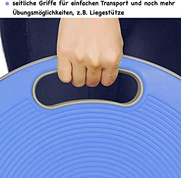 Home-Gym Fitness Zuhause Pamura BALANCEPRO Balance Board Durchmesser: 40 cm Sportger/äte Fitnessger/äte