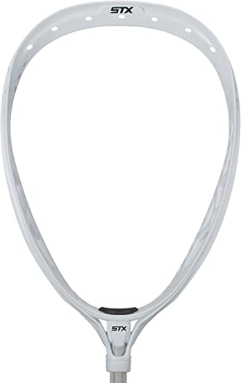 STX Lacrosse Eclipse 2 Strung Goalie Head, White - Best For Performance
