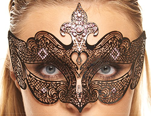 Medieval Venetian Style Masquerade Mask by AA+ (Purple (Medieval Masks)