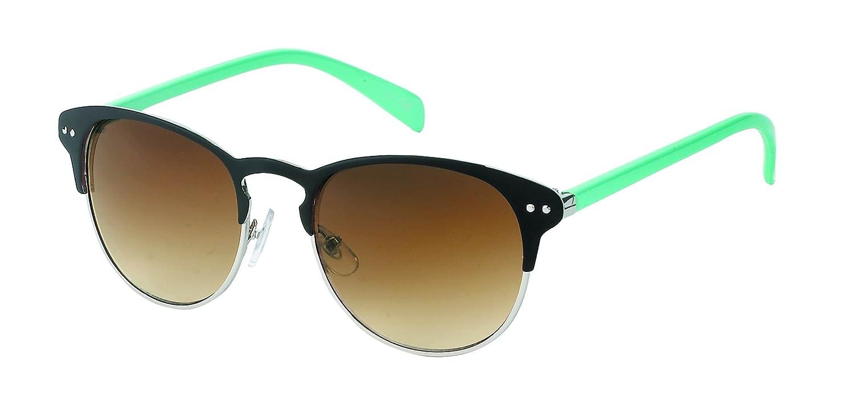 Sonnenbrille rund John Lennon Style Punkte Vintage Retro 400UV Panto getigert ryLlN2MOdl