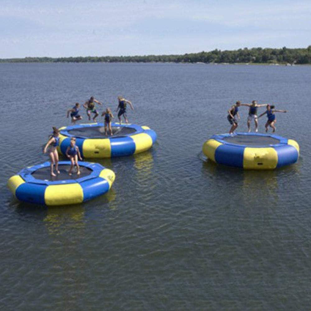 Amazon.com: Foammaker - Cama elástica de agua inflable serie ...