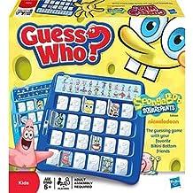 Spongebob Squarepants Guess Who? Board Game