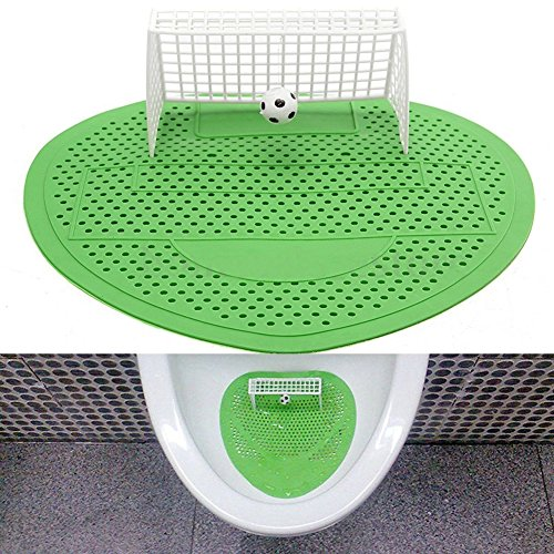 BleuMoo 1Pc Funny Football Soccer Shoot Goal Style Urinal Filter Screen Mat Pad