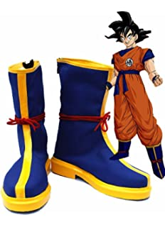 Telacos Dragon Ball Anime Monkey King Son Goku Kakarot Cosplay Shoes Boots Custom Made