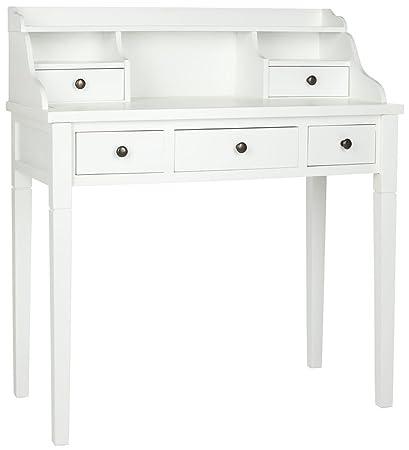 Secretario escritorio con gabinete y cajones - contemporáneo mesa ...