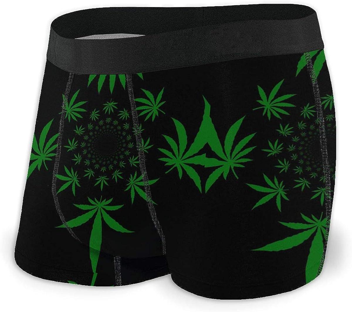 Heart Mens Boxer Briefs Underwear for Men S-XXL Polyester Spandex Quick Dry