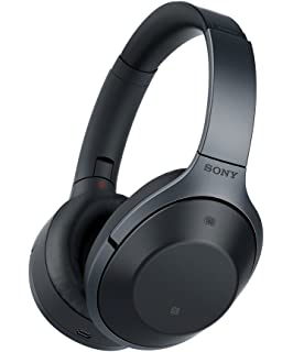 6858f18ee7c Sony MDR-1000X Noise Cancelling, Bluetooth Headphone, Black (International  Version with Full