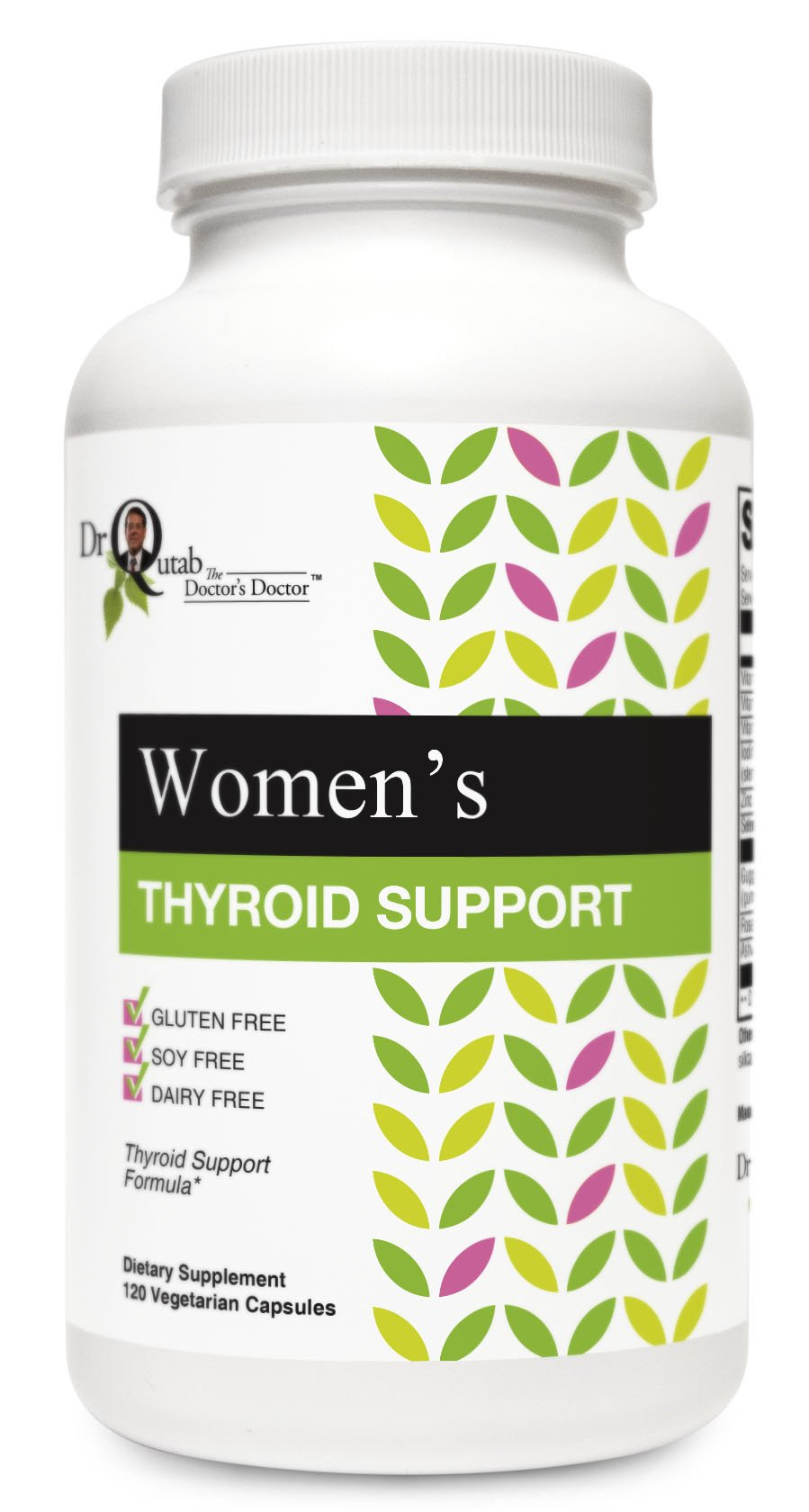 Dr Qutab The Doctor's Doctor, Women's Thyroid Support, Thyroid Support Formula
