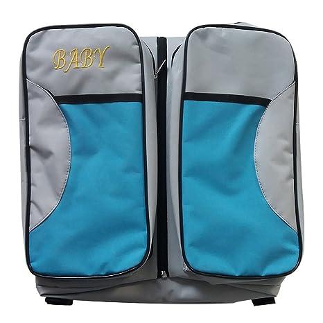 hukoer 3 en 1 portátil bolsa de cambiar pañales de viaje ...