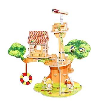 Bricolaje En Rlfs Casa De Juguetes Para Educativos Niños 7gv6byYf