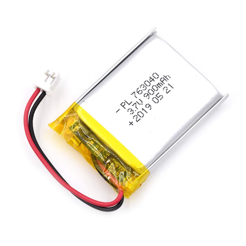 Bateria Lipo 3.7v 900mah 763040 Recargable Jst Conector