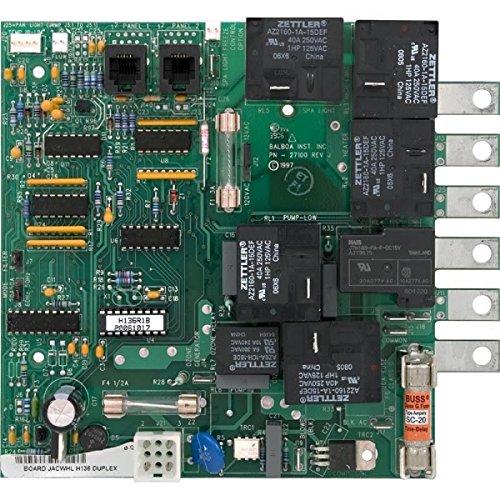 (Balboa 10-175-1424 Circuit Board, H136, Jacuzzi, Analog DUP, 51424)