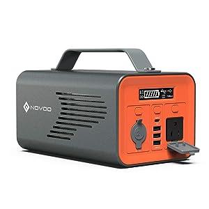 NOVOO PowerAdventure 230Wh AC出力200W ポータブル電源