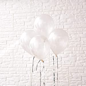 5 inch Mini Latex Party Balloons,Clear,Pack of 120