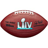 $139 » Super Bowl 54 LIV Wilson Authentic Official Game Football - Miami 2020 - with 49ers & Chiefs Team Names!