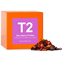 T2 Tea Very Berry Fruitea Fruit Tea, Loose Leaf Fruit Tea in Gift Cube, 100 g