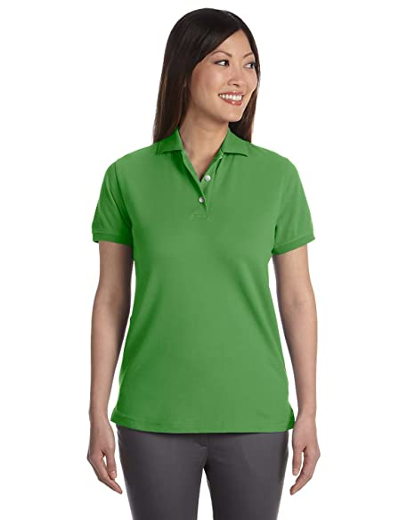 98466ce9940570 Izod Women s Silk Wash Short Sleeve Pique Polo Shirt at Amazon Women s  Clothing store