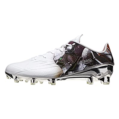 Adidas Adizero 5Star 5.0 Uncaged Mens Football Cleat 13 Knight-White- Platinum