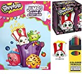 2 in 1 shop and cook playset - Shopkins Figure Poppy Corn fun character Funko Vinyl & play pack Coloring Cook activity set with Colored Pencils