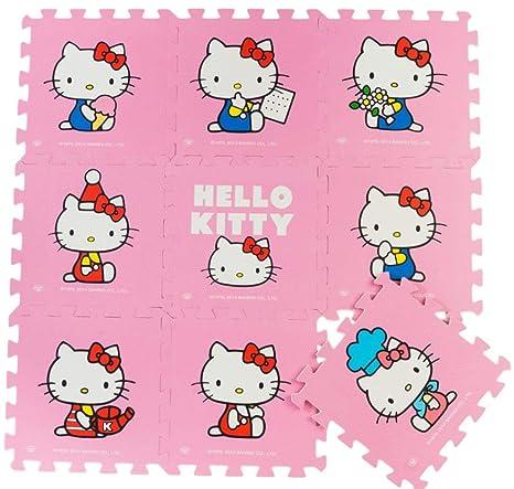 Meitoku Alfombra de Goma EVA para niños. 9 alfombras de 30 x 30 x 1. Pasa ...