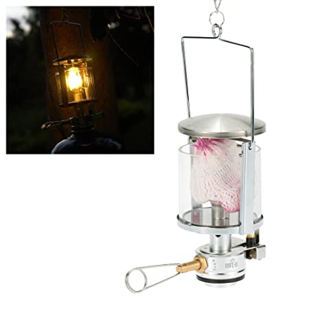 Campcookingsupplies Outdoor Portable Gas Lantern Camping Mini Gas Light Tent Lamp Torch Lamp For Camping Hiking Emergency Gas Lantern Lights