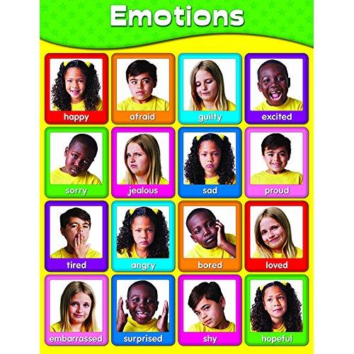 Carson Dellosa Emotions Chart ()