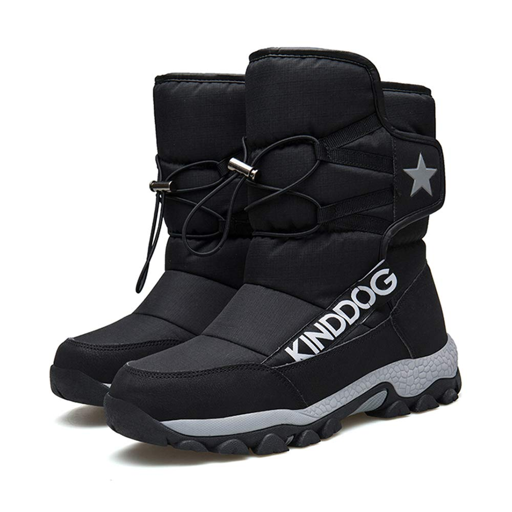 Melady Fashion Youth Shoes Warm Lined Boots High Top Snow Boots Winter Shoes