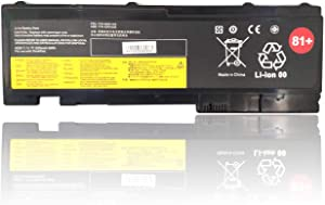 Ding 81+ Replacement Battery Compatible with Lenovo ThinkPad T420i T420s T430s 0A36287 42T4844 42T4845 42T4846 42T4847 45N1036 45N1037 45N1038 45N1039 45N1064 45N1065 45N1143-1110.8V 57Wh