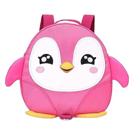 hibote Mochila para arnés de seguridad para bebés para bebés pink penguin