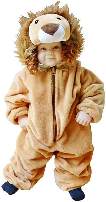 F57 Tamaño 2-3 años traje León para bebés y niños pequeños, cómodo ...
