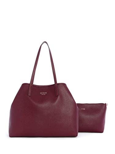 c2ec07711266 Guess Vikky Large Tote BURGUNDY  Amazon.fr  Chaussures et Sacs